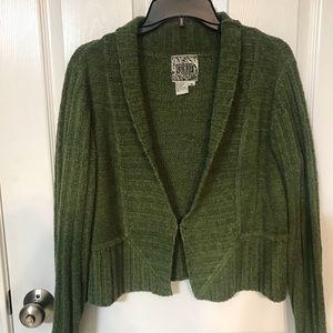 Sweaters - Green Curio Cardigan